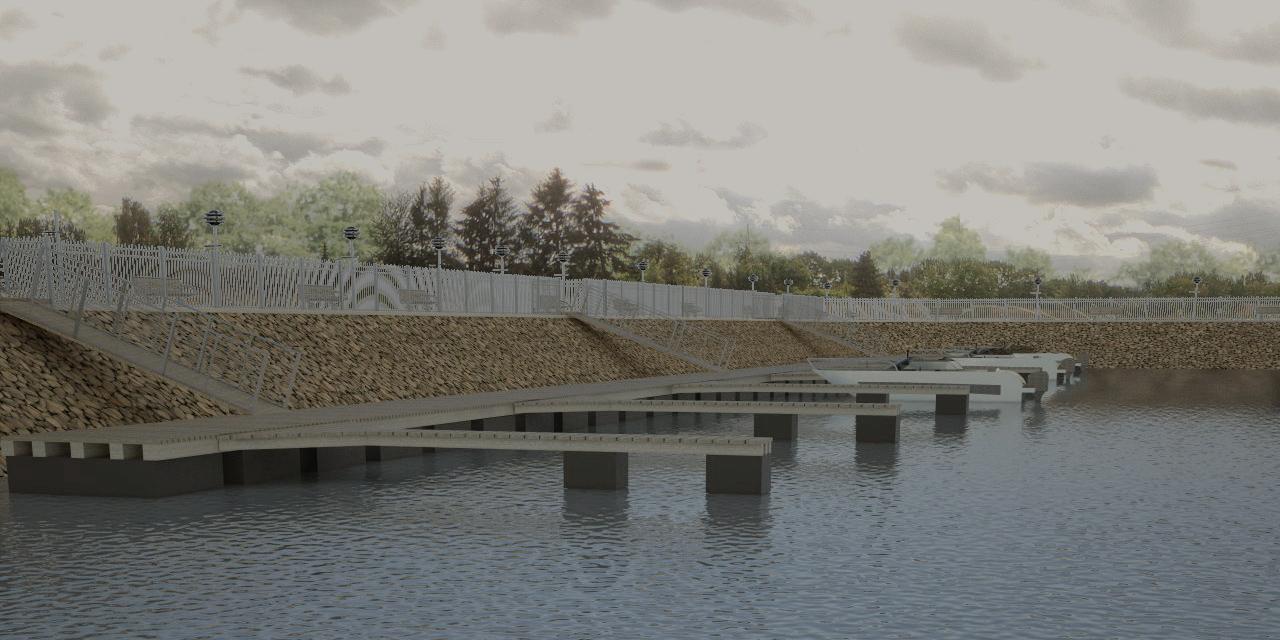 Reku jõesadama visualiseering