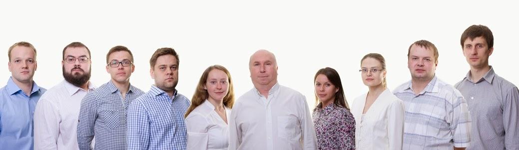 Pildil meie ettevõtte meeskond