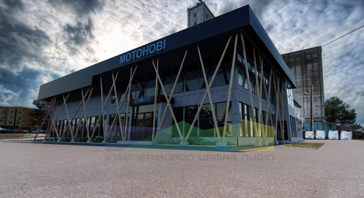 Hoonete visualiseerimine