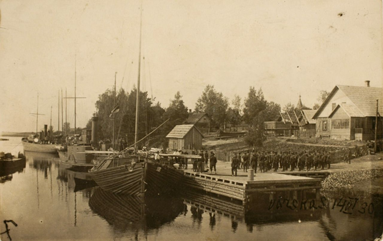 Värska_sadam_1930