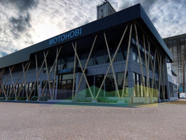 Hoonete arhitektuurne ja konstruktiivne projekteerimine